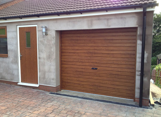 Roller garage door fitted – Sheffield