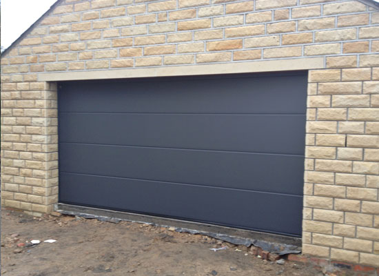 Hormann Sectional Garage Door installation