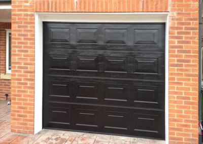 Sectional garage doors fitted in Wakefield