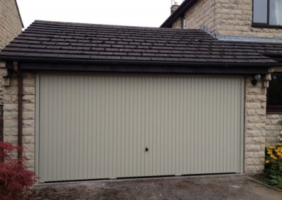 Up and Over Garage Door installation